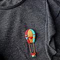 broche montgolfière 2