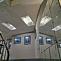 a/Accrochage Ice Blues à Nice galerie Depardieu