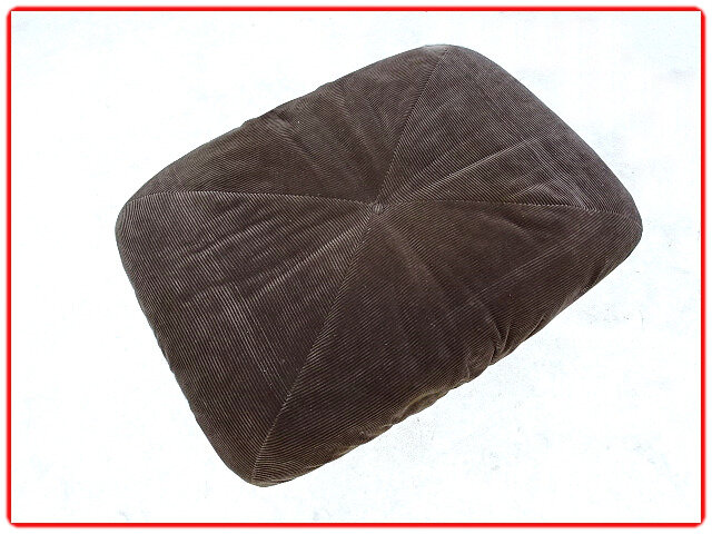 Pouf Airborne patate vintage 1970
