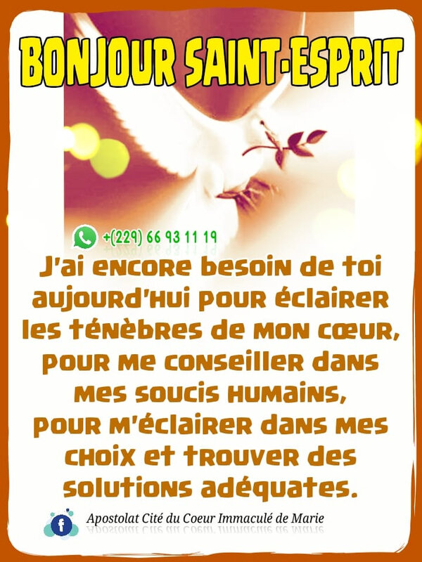 🔥 BONJOUR SAINT-ESPRIT🔥 Souffle ! Esprit-Saint ! Souffle! J'ai besoin de ton soutien. A Toi, le respect, l'Amour et la Vérité.