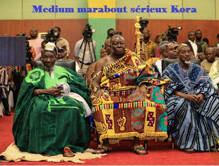 REPUTATIONS multiples du grand medium marabout KORA