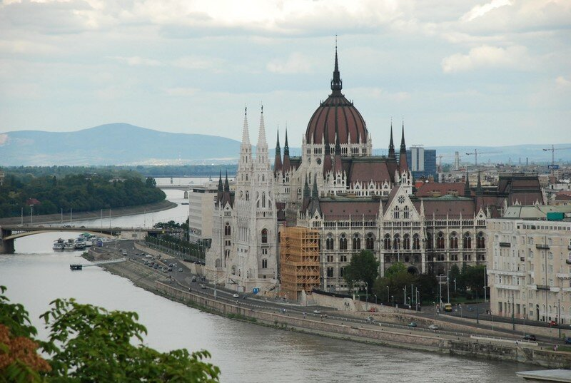Budapest: le parlement