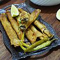 L'authentique bourek annabi cigares à la viande hachée ( 3orf ou 3rafs bourek )