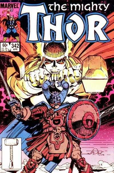 mighty thor 1966 342