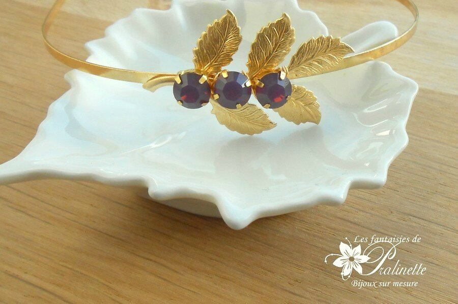 bijoux-mariage-serre-tete-headband-fleuilles-dorées-3