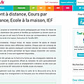 L'ief sur le site pass education