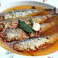 Sardines à l'escabèche {recette pied-noir de famille}