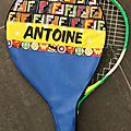 Housse de raquette Antoine