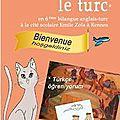 Rentrée 2012-2013 : 6ème bilangue anglais-turc
