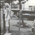 Mai 1957 marilyn et arthur à battery park par sam shaw