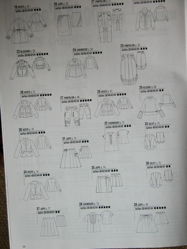 planche 2 des modèles magazine idées couture