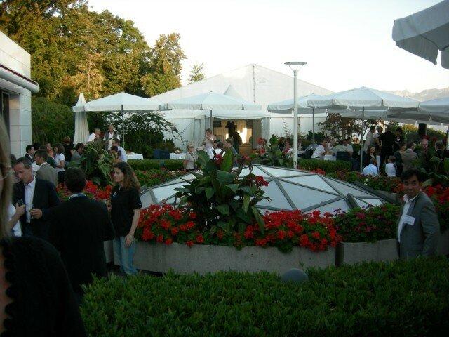 soirée ITU sur la terrasse du musée