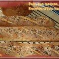 Pain aux lardons, recette d'eric kayser