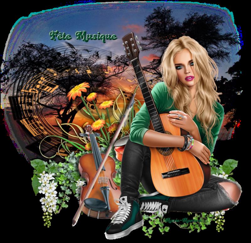 musique vert