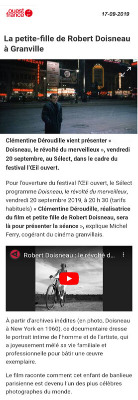 Ouest France 17-09-19