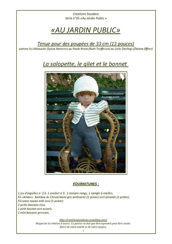 CS 35 Tenue complète Jeannot minouche