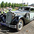 Horch 853 sport cabriolet de 1937 (9ème classic gala de schwetzingen 2011)