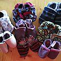 Des chaussons pour petits et grands
