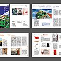 Typographie, devoir n°2 - projet de maquette pour une revue d'architecture