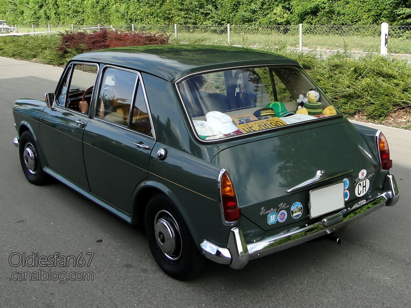 Vanden Plas Princess 1100 Mark II-1967-02