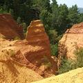 Roussillon - Sentier des Ocres
