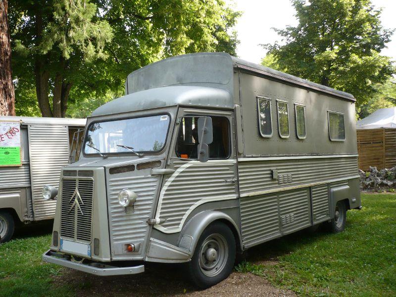 CITROËN HY camping-car Currus 1973 Lons le Saunier (1)