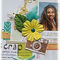 Scrapbooking day sur l'atelier a scrap