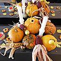 Repas de famille au fil des saisons