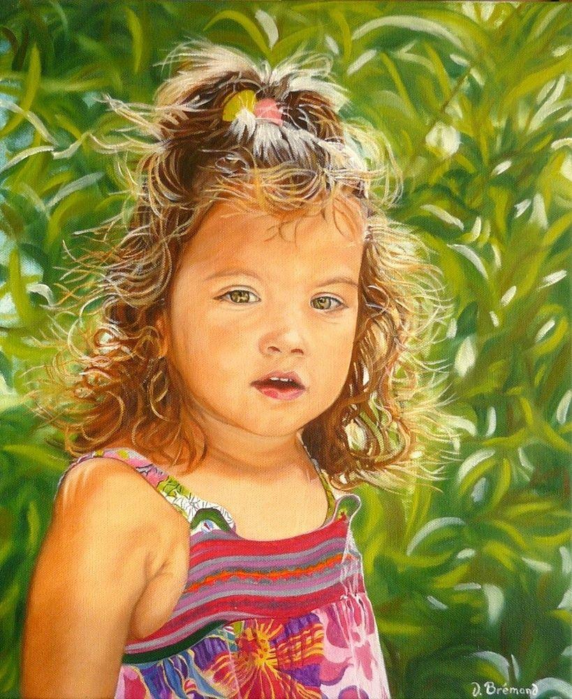 Eva - Huile sur toile - 46 x 38 - 19 novembre 2012