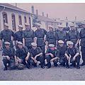 1ère cie défilé du 14 juillet 1967 1 Seule fois ou nous avons porté le treillis vert armée et les rangers (économie oblige)