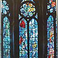 Reims 2 - Cathédrale - vitraux de Chagall