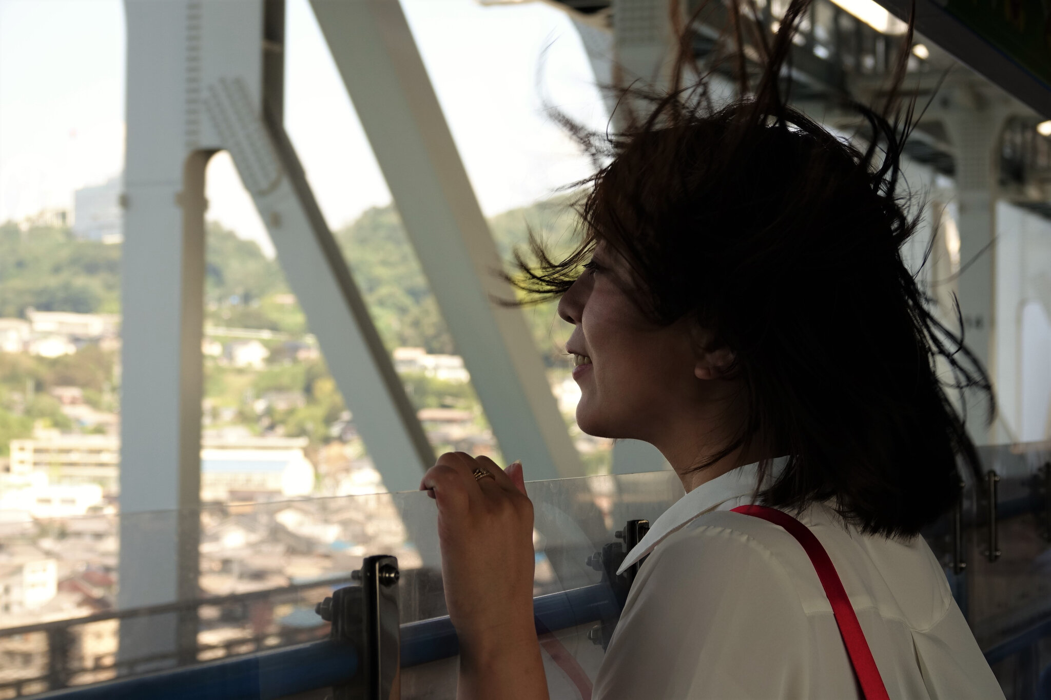 Anpan-woman in the wind 'Torokko'