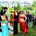 Jasmine, Aladdin, Jafar et Jasmine sexy XD