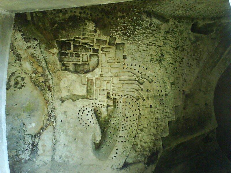 Détail mural