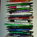 collection stylos