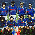 16 novembre 1985 FRANCE-YOUGOSLAVIE ... QUALIFICATION POUR MEXICO 86