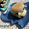 Hamburger au haddock