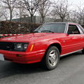 Ford mustang iii fox notchback coupe 1979 à 1982