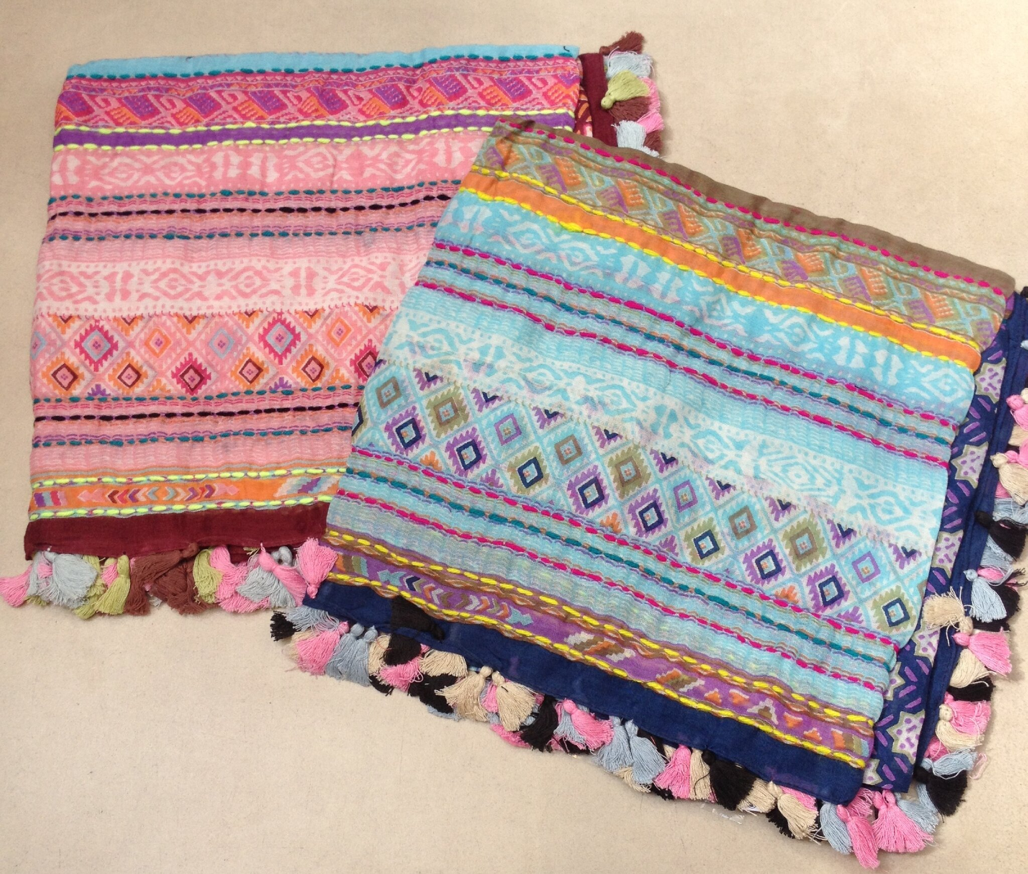 Foulard Triangle - Chèche 'Boho Hippie Chic'