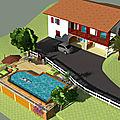 🖌 un jardin, des dessins. briscous 64240