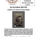 Conférence de yannick guillou sur le général travot