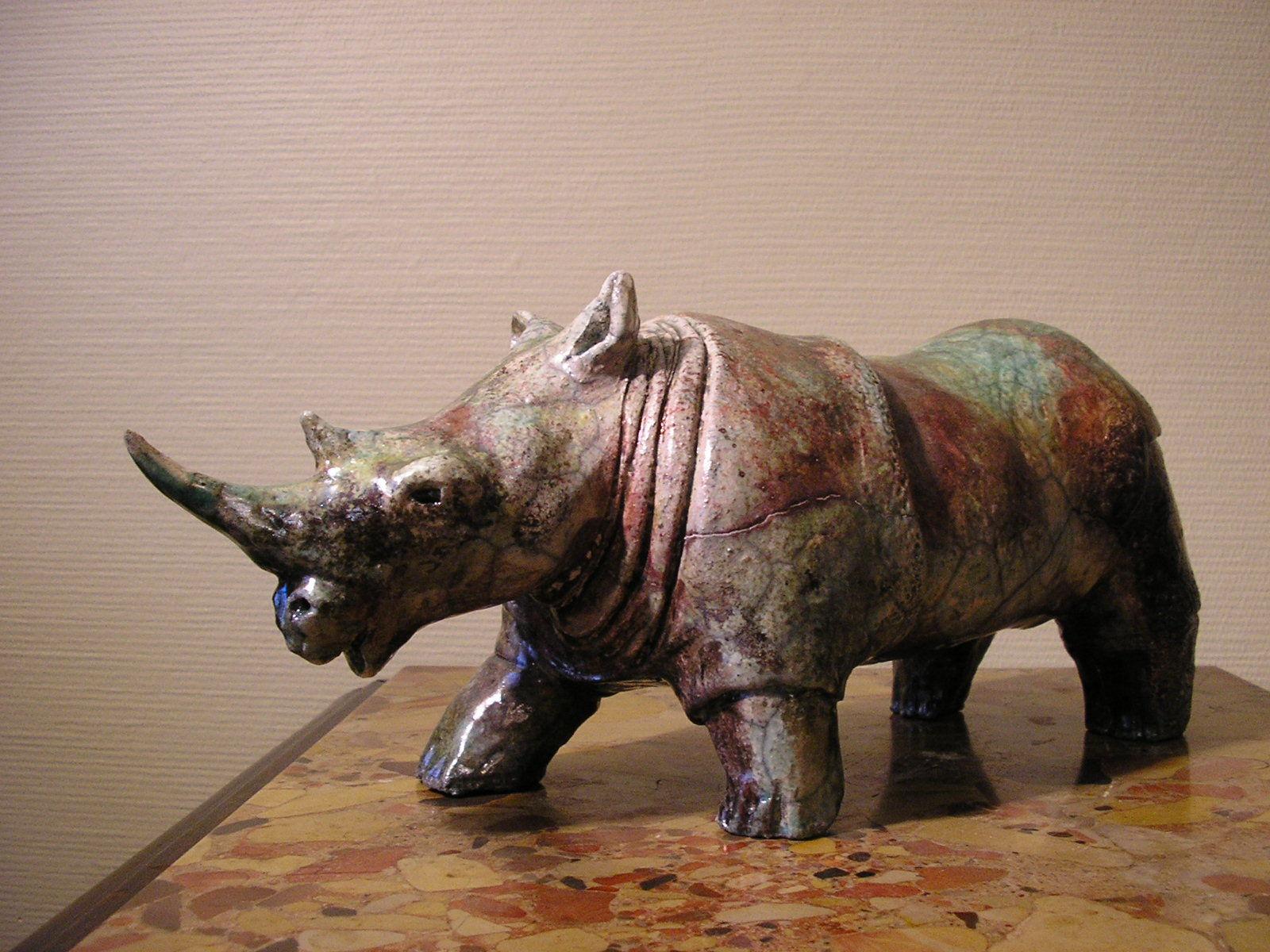 Rhino Raku