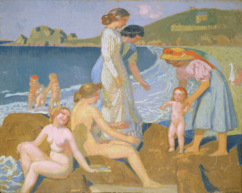 Female_bathers_at_Perros-Guirec,_by_Maurice_Denis