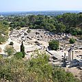 Le site de Glanum