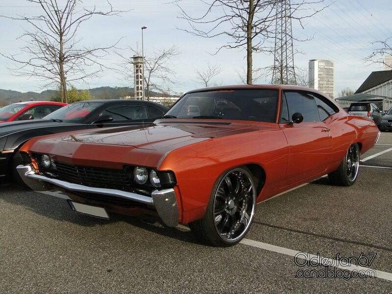 Chevrolet Impala Sport fastback coupe-1968 - Oldiesfan67 ...