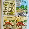 Page jeux dinos 1