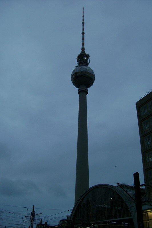 la tour de la télévision sur Alexanderplatz