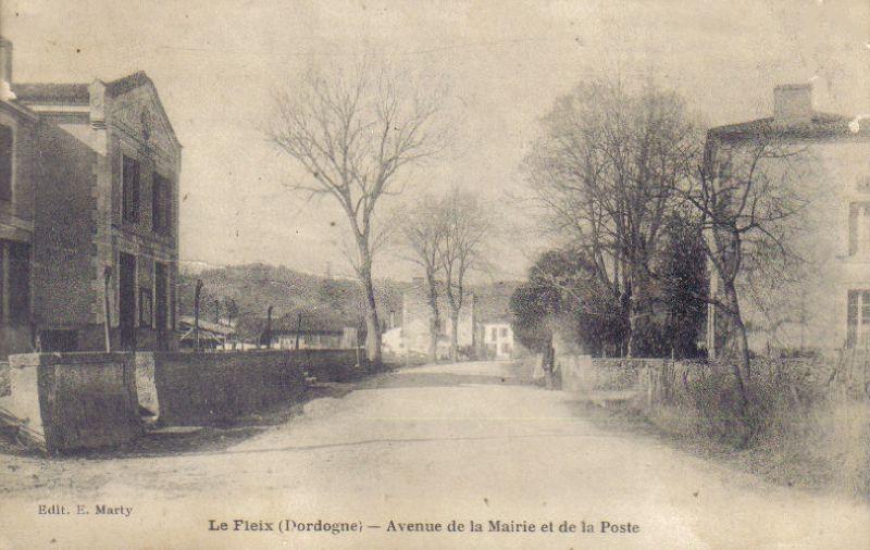 le fleix avenue de la mairie