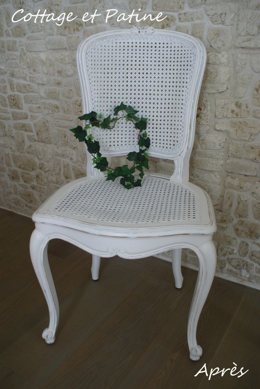 chaises revisites cottage et patine le blog