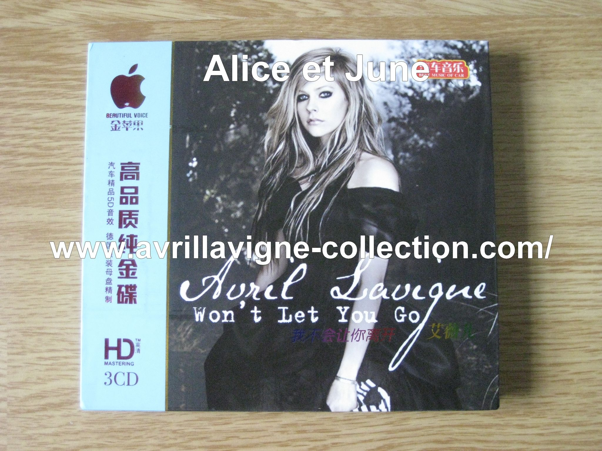 CD compilation Won't Let You Go-Asie (2011)
